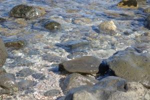 Rocks on a Hawaiian Beach